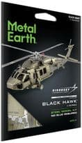 Metal Earth Black Hawk Model Kit | Buy now at The G33Kery - UK Stock - Fast Delivery